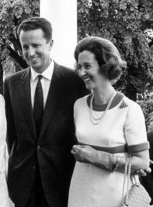 Король бельгийцев Бодуэн с супругой Фабиолой (1969 г.)