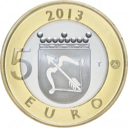 Finland 2013. 5 euro. Savonia