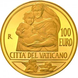 Vatican 2013. 100 euro. Sistine Madonna