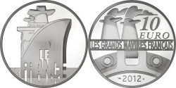 COTY 2014 France 10 euro. Le France