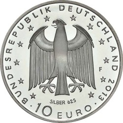 Germany 2013. 10 euro. Georg Büchner (Ag)