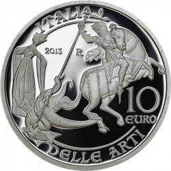 Italy 2013 10 euro Aosta Valley rev