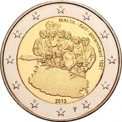 Malta 2014 2 euro. Self-government – 1921