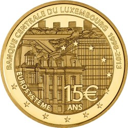 Luxemburg 2003. 15 euro. Banque Centrale du Luxembourg