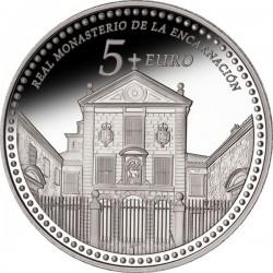 Spain 2013. 5 euro. Real Monasterio de la Encarnación