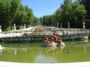 la Granja garden