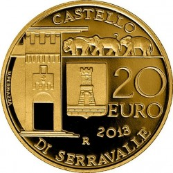 San Marino 2013. 20 euro. Serravalle