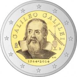 2 euro Italy 2014 Galileo Galilei