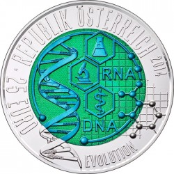 Austria 2014. 25 euro. Evolution