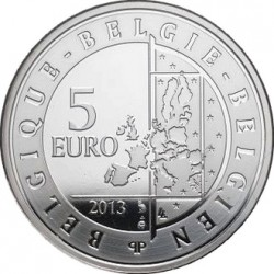 Belgie 2013. 5 euro (colored). Spirou