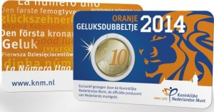 Netherlands Lucky cent 2014