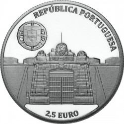 Portugal 2013. 2.5 euro. Town of Elvas and its Fortifications (Ag 925)