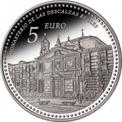 Spain 2013. 5 euro. Descalzas Reales