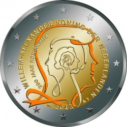 2 euro 2013 Kingdom of the Netherlands colored