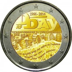 2 euro 2014 France D-Day