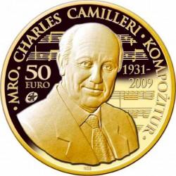 Malta 2014. 50 Euro. Charles Camilleri