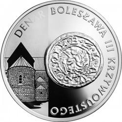 Polska 2014 10zl denar Bolesawa Krzywoustego rev