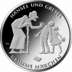 Germany 2014. 10 euro. Hänsel und Gretel