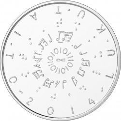 Finland 2014. 20 euro. Lukutaito