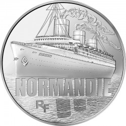 France 2014. 10 euro. Normandie