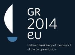Hellenic Presidence of the EU 2014 logo