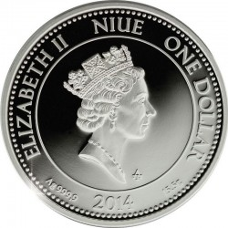 Niue 2004. 1 dollar. replica ancient Rome coin