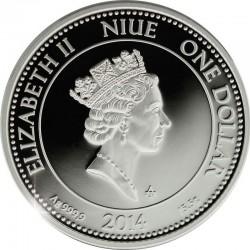 Niue 2004. 1 dollar. replica ancient Rome coin