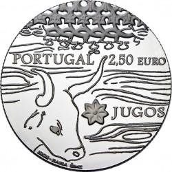 Portugal 2014. 2.5 euro. Jugos (Ag 925)