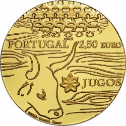 Portugal 2014. 2.5 euro. Jugos (Au 999)