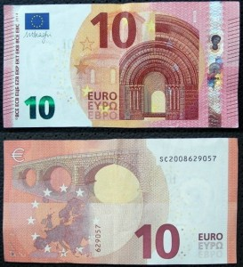 10 euro banknote new 2014