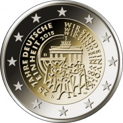 2 euro 2015 Germany Einheit