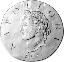 France 2014. 10 euro. Napoleon I