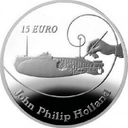 Irland 2014. 10 euro. John Philip Holland