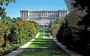 Royal Palace of Madrid, facade west