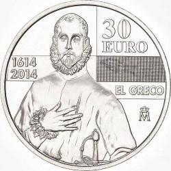 Spain 2014. 30 euro. El Greco