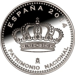 Spain 2014 5 euro Patrimonio Nacional obv