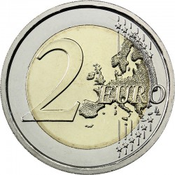 2 euro. San Marino 2014. Браманте