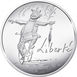 France 2014 10 euro Liberte automne