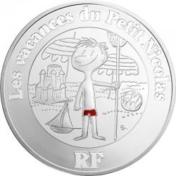 France 2014. 10 euro. Petit Nicolas vacances