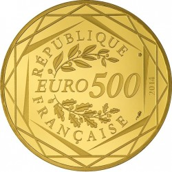 France 2014. 500 euro. Republique