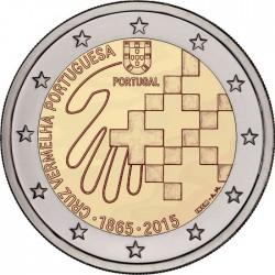 2 euro. Portugal 2015. Cruz