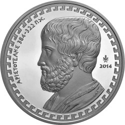 Greece 2014. 10 Euro. Aristoteles