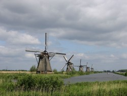 Kinderdijk in Netherlands