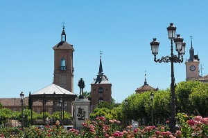 Plaza de Cervantes. Alcala de Henares