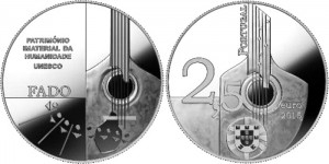 Portugal 2015 2.5 euro Fado