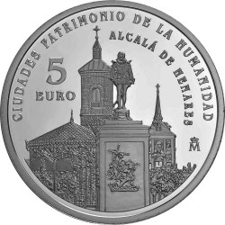 Spain 2014. 5 euro. Alcalá de Henares