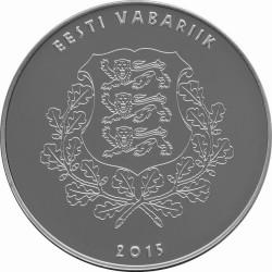 Eesti 2015. 10 euro. Eduard Vilde
