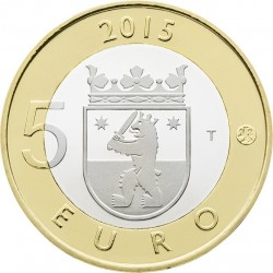 Finland 2015. 5 euro. Satakunta