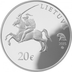 Lithuania 2015. 20 euro. Oginski