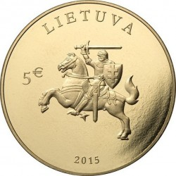 Lithuania 2015. 5 euro. Independence